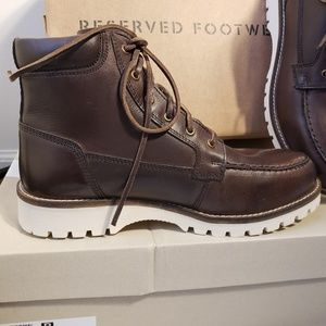 Reserved Footwear New brown boots 10